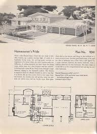 Retro Ranch House Plans 151 Best Vintage House Plans Images On Pinterest Vintage House
