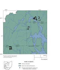 Map Testing Ohio by Arsenic In Ground Water In Selected Parts Of Southwestern Ohio