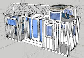 tiny home blueprints tiny house on trailer plans