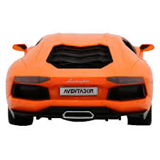 lamborghini aventador headlights in the dark amazon com rw 1 24 scale lamborghini aventador lp 700 4 rc radio