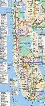 of manhattan high resolution map of manhattan for print or usa