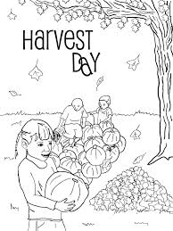 harvest coloring pages printables virtren com