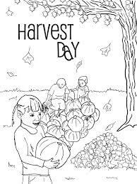 harvest coloring pages printables virtren com