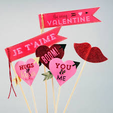 Valentine S Day Flags Valentine U0027s Day Love Props And Flags By Postbox Party