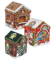 house gift amazon com set of 4 christmas holiday house shaped nested gift