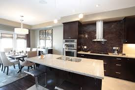 kitchen and dining room ideas model home kitchen and dining room combination modern kitchen