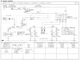 1991 mazda b2600i wiring diagram turn signal hazard flasher