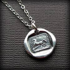 wax seal jewelry wax seal necklace shannon westmeyer jewelry
