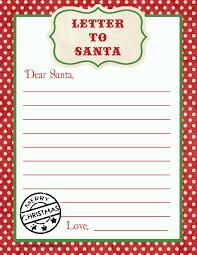 letter to santa free printable download free printable elves