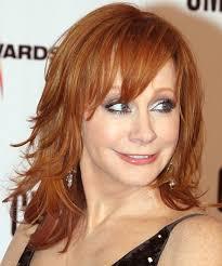 reba mcentire with a long shag haircut hairstyles u0026 haircuts