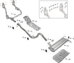 jeep stock exhaust jeep wrangler jk exhaust parts 07 11 quadratec