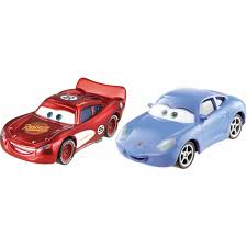 cars sally and lightning mcqueen disney pixar cars character car 2 pack sally and radiator springs