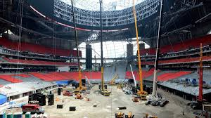 Journal Of Light Construction by Construction On Mercedes Benz Stadium Nears Completion Pics