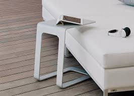 Design Garden Furniture London by Manutti Pi Garden Side Table Contemporary Garden Furniture London