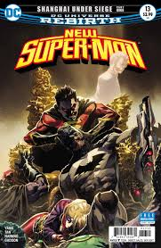 supergirl comic box commentary review new super man 13