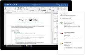 resume linkedin linkedin just made writing your resume in microsoft word a whole