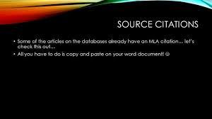 quote lecture mla a quick guide to formatting your works cited page ppt download