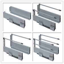 Metal Drawers For Kitchen Cabinets by Kitchen Cabinet Soft Close Metal Drawer Slide Buy Soft Closing