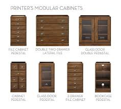 build your own printer u0027s collection tuscan chestnut pottery barn