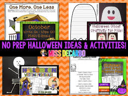 halloween ideas activities and a freebie miss decarbo