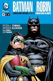 batman u0026 robin dark knight vs white knight by paul cornell