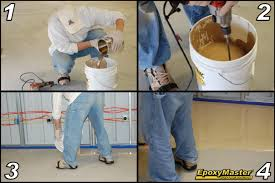 tips for an easier do it yourself epoxy garage or basement floor