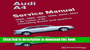 download audi a4 b5 service manual 1996 1997 1998 1999 2000