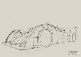 car sketch in perspective by morfiuss on deviantart