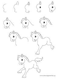 step by step animal drawings drawing pencil