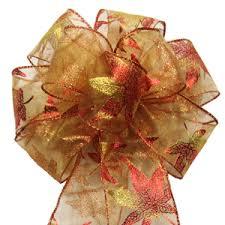fall ribbon bows wreath bows outdoor bows ribbon