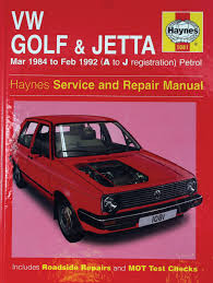 haynes manual mk2 golf u0026 jetta petrol 1984 92 0001001013 000