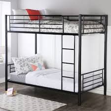 Target Bunk Beds Twin Over Full by Amazon Com Walker Edison Twin Over Twin Metal Bunk Bed Black