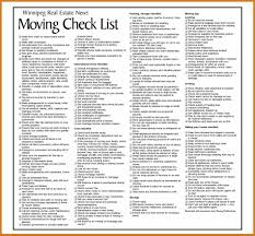 great moving to do list template moving checklists checklist for