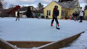 Ice Rink In Backyard Father U0027s Ice Rink Fills Backyard And A Purpose Kare11 Com