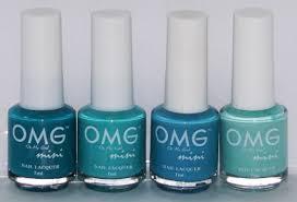 the new omg nail polish omg mini nail lacquer