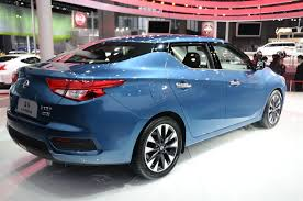 Nissan U0027s All New Lannia Looks Like A Sentra Sized 2016 Maxima