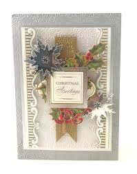 griffin christmas cards griffin christmas arrangements embossing folders and dies
