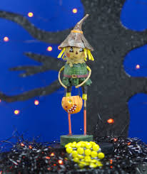 lori mitchell halloween lori mitchell scarecrow halloween figurine oz collection