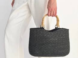 summer ready woven bags in straw wicker rattan and raffia