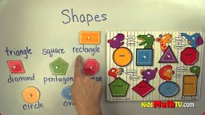 learn shapes and geometry math lesson for kindergarten to 2nd
