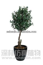 5 foot with pot plastic money tree artificial plants in shenlin