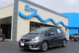 used certified one owner 2012 honda fit sport burlington wa