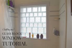 gokie notes glass block window a semi tutorial