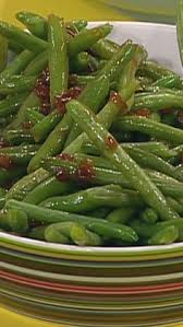 bacon cranberry almond green beans a delicious side dish