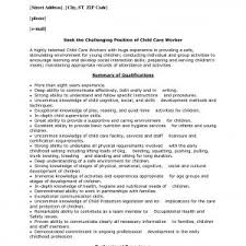 endearing child care worker cover letter examples childcare cover