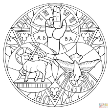 holy trinity coloring pages funycoloring