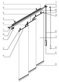 Roman Shade Parts - superior roman shades panel tracks