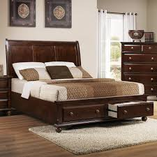 Muenchen Furniture Cincinnati Ohio by Portsmouth B 6075 King Panel Bed With Storage Footboard By Crown