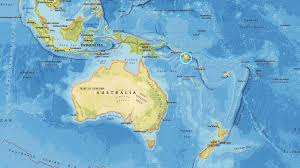 Solomon Islands Map Preliminary Magnitude 6 9 Aftershock Quake Strikes Near Solomon