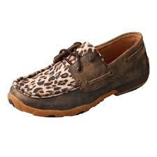 twisted x s boots twisted x womens leopard boat shoe twisted x boots p nemir